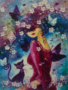 JEJ ŚWIAT MAGICZNY Viola Sado obraz olejny 30x40cm (6219754592) - Allegro.pl - Więcej niż aukcje.