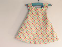 Reversible Wrap Dress 9 to 12 Month by CottontailNZ on Etsy