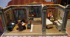 zauberhafte Moritz-Gottschalk-Stube mit Erker, ca. 100 Jahre alt in Antiquitäten & Kunst, Antikspielzeug, Puppen & Zubehör | eBay