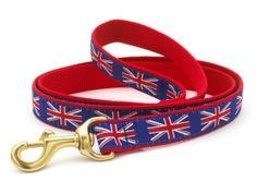 Union Jack Lead Puppy Time Dog Design Cat Collars