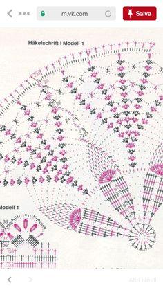 Crochet Doily Diagram, Crochet Chart, Thread Crochet, Crochet Doilies, Crochet Patterns, Crochet Blocks, Crochet Tablecloth, Crochet Projects, Dream Catcher