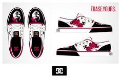 Skull Trase Shoe de Noelia Santamaría patrocinado por DC Shoes