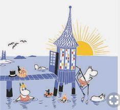 Illustration Noel, Character Illustration, Graphic Illustration, Tove Jansson, Painting Inspiration, Art Inspo, Moomin Valley, Kids Lighting, Little My