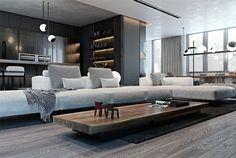 Cozy Apartment in Kiev Center by Diff.Studio