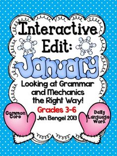 This resource supports teaching language skills by looking at well written sentences, rather than poorly written sentences. Included are 20 printable student sheets, lessons, and teaching ideas. Why not put well-written sentences in front of students and ask them what they notice is working? The worst that will happen is that we are exposing them to sentences full of correct grammar, mechanics, spelling, subject/verb agreement, punctuation, and much more!