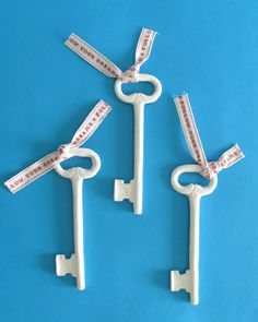 "Ceramic keys ""follow your dreams"" by Joke Schole, from Artacasa"