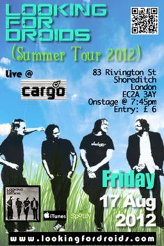 #summer #party with #lookingfordroids #london #cargo August 2012