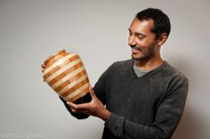 Picture of Making of a segmented vase - I made it at TechShop