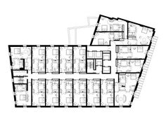 typical hotel floor plans - Google Search