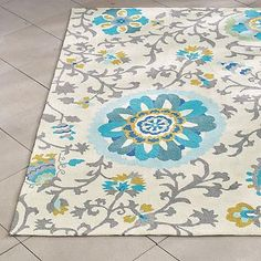 Lacey Outdoor Rug - depending on the color of the sectional.
