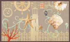 """Accessary,Bamboo Floor Mat, Nautica Cote D'azu,Bamboo,60""""x0.25""""x36"""" Inches by Highland Crafts. $44.88"""