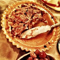 """my mother's famous apple crumb pie,"" scouted by @Lizz Ulrich"