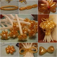 How to Make DIY Balloon Daisy Flower Bouquet - Balloon Decorations 🎈 Diy Balloon, How To Make Balloon, Balloon Crafts, Balloon Bouquet, How To Make Diy, Ballon Flowers, Man Bouquet, Graduation Diy, Balloon Animals