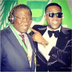 the best attitude d7037 8ac43 Lightup Concepts  D Banj Has Got President Goodluck Jonathan Wearing.