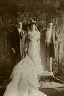 Alice Roosevelt's wedding Feb. 17, 1906. Princess Alice, as she was known, was a late-Victorian version of a celebrity, whose wild exploits were catnip for the press—smoking in public, driving her own car, chewing gum, and flirting with men—without a chaperone.