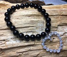 Bracelet en pierres semi précieuses, Bracelets, Creations, Frame, Jewelry, Stones, Bangle Bracelets, Picture Frame, Jewlery, Frames