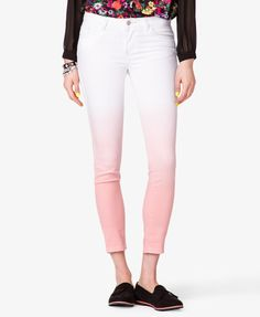 Ombré Skinny Jeans - Sale - 2030691603 - Forever 21 UK