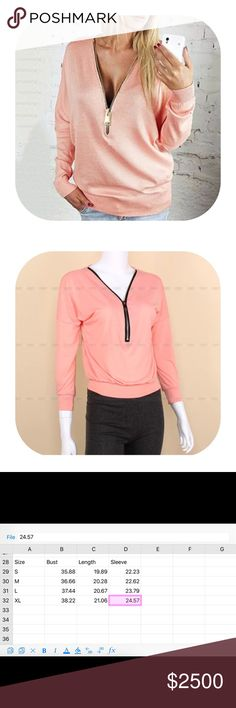 🎉comingsoon🎉 zip up blouse Material: cotton blend.                                      Brand new with tag.                                                 Bundle discount 15%.                                              If you want more than two items let me know, I can make you a list with more discount.       This item will be coming in in around two weeks. If you want to be notified please simply press like. I will drop the price the time they are coming so you will be getting a…