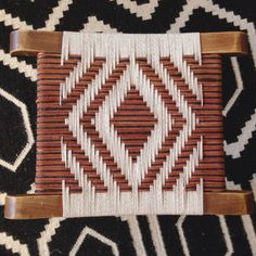 THE LEATHER SHED BLOG //DIY Woven Leather Stool by One Fine Pine