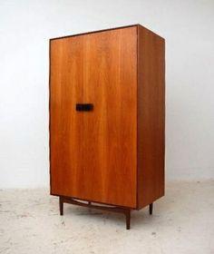 Ib Kofod-Larsen; Teak 'Danish Range' Cabinet for G-Plan, 1960s.