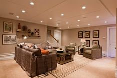 drop ceiling ideas - they used 4x8 sheets of bead board!!