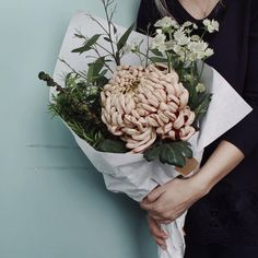A Bunch of Flowers to Lift the Spirits