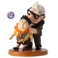 Carl and Russell Figurine - Up - Walt Disney Classics Collection | Figurines & Keepsakes | Disney Store
