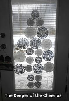Doily Tree this would be great on our patio doors