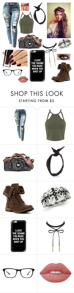"""""""Kong: Skull Island"""" by caketime ❤ liked on Polyvore featuring Miss Selfridge, yunotme, Kevin Jewelers, Casetify, Joseph Marc and Lime Crime"""