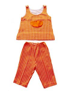 FRENCH vintage 70's / kids set / matching by Prettytidyvintage, €22.50