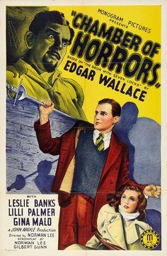 Chamber of Horrors (aka The Door with Seven Locks) (1940, UK)