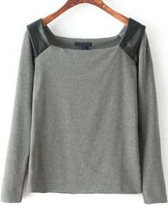 Shop Grey Off the Shoulder Long Sleeve Blouse online. Sheinside offers Grey Off the Shoulder Long Sleeve Blouse & more to fit your fashionable needs. Free Shipping Worldwide!