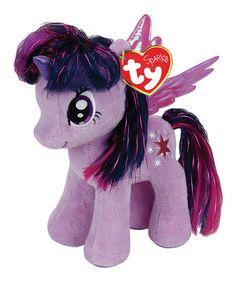 Another great find on #zulily! My Little Pony Twilight Sparkle Beanie Baby #zulilyfinds