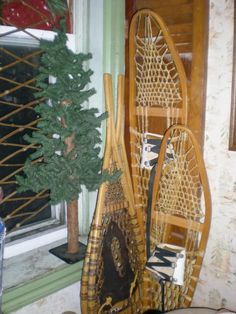 Several sizes of vintage snow shoes. Found at Old Hotel Market, 441 Main St. New Market, MN   952 270 6056 web site http://www.theoldhotelmarket.com/ or  facebook page https://www.facebook.com/theoldhotelmarket