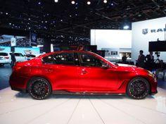 Infiniti takes on the sports sedan market with Q50 Eau Rouge Concept   Car Fanatics Blog