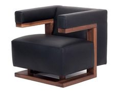 This particular armchair, the F51, was designed by Gropius for his office at the Dessau Bauhaus. Widely studied, the F51 chair is a particular favorite of architects and designers. Its bold look domin