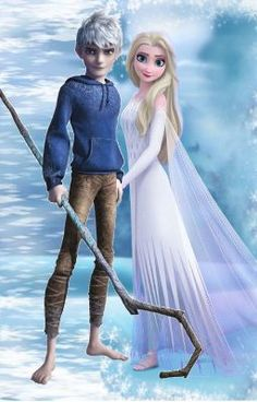 Jack Frost And Elsa, Frozen Elsa And Anna, Disney High, Disney Frozen, Jelsa, Elsa Moderna, Elsa Anime, Frozen Funny, Modern Disney Characters