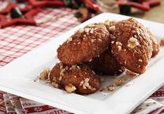 Καρυδάτα μελομακάρονα-featured_image Greek Sweets, Greek Desserts, Greek Recipes, Christmas Sweets, Christmas Baking, Greek Christmas, Greek Cookies, Country Cooking, Food Categories