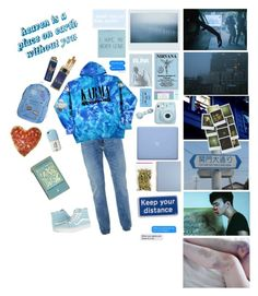 """""""bayside mess"""" by ha-ew on Polyvore featuring Topman, Worth, American Apparel, Blink, CASSETTE, Valfré, Fujifilm, Anya Hindmarch, Vans and men's fashion"""