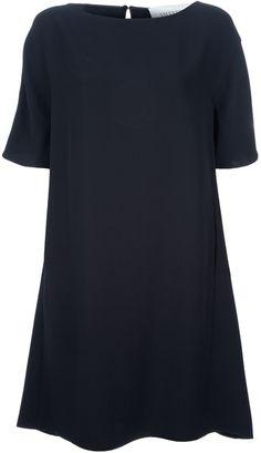 Valentino Silk Dress in Black - Lyst