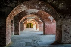 "Fort Point National Historic Site - Featured on RueBaRue.  Dubbed ""the Gibralter of the West Coast,"" Fort Point National Historic Site is a military fort from 1861, built to protect San Francisco from Confederate warships during the Civil War."