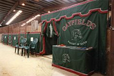 Image result for Horse Show Stall Curtains