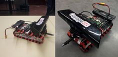The Pi Tank – 3D Printed Open Source Smartphone Controlled Raspberry Pi Robot - http://3dprint.com/45169/pi-tank-3d-printed-robot/ …