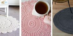 7 DIY pour faire un tapis d'intérieur au crochet