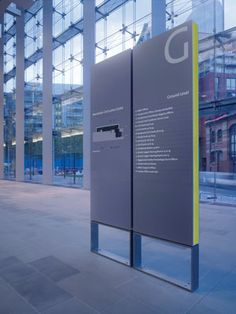 manchester civil justice centre signage, by emerystudio