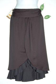 Boss Orange by Hugo Boss Black Womans A-Line Skirt Size US 2 EU 38 Polyester NEW #HUGOBOSS #ALine