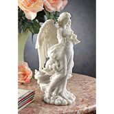 Found it at Wayfair - Angel Trumpeting Cathedral Figurine