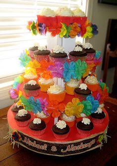 Estes Family Moments: Cupcake Towers.....