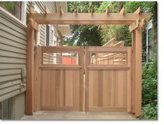 Wood Fence Gates | Creative Fences & Deck | Portland, OR | Wood and Iron Gates