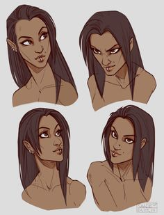 """shade-shypervert: """"Was working on one of my RP characters today c: Here is Melissa. And yeah, she's my only one full human OC so far… Dammit. How to humans?"""""""